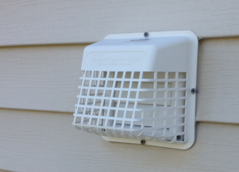 Vent guard against bird entry
